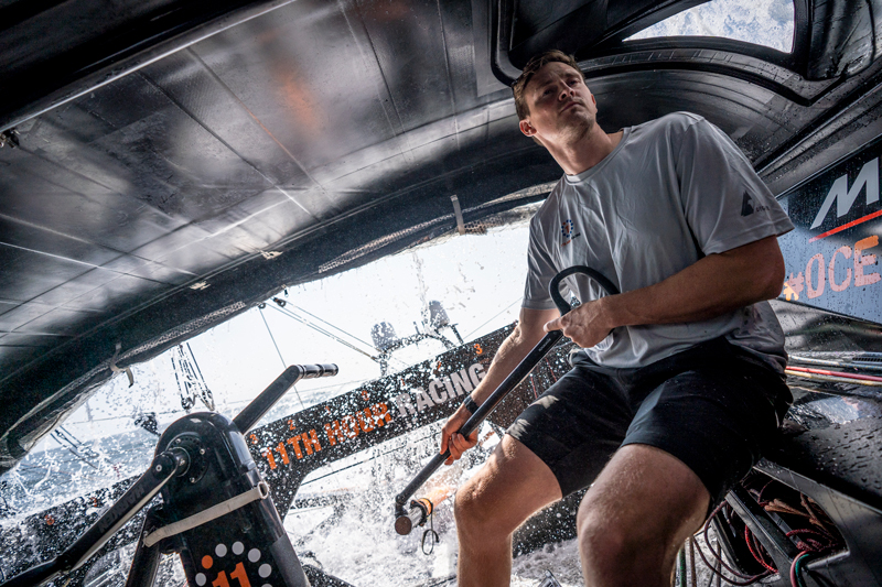 11th Hour Racing Team Get to know sailor kyle langford