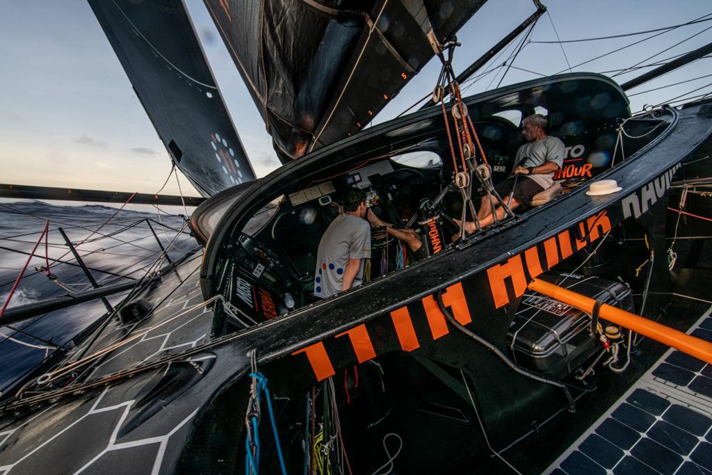 11th Hour Racing team transatlantic crossing IMOCA