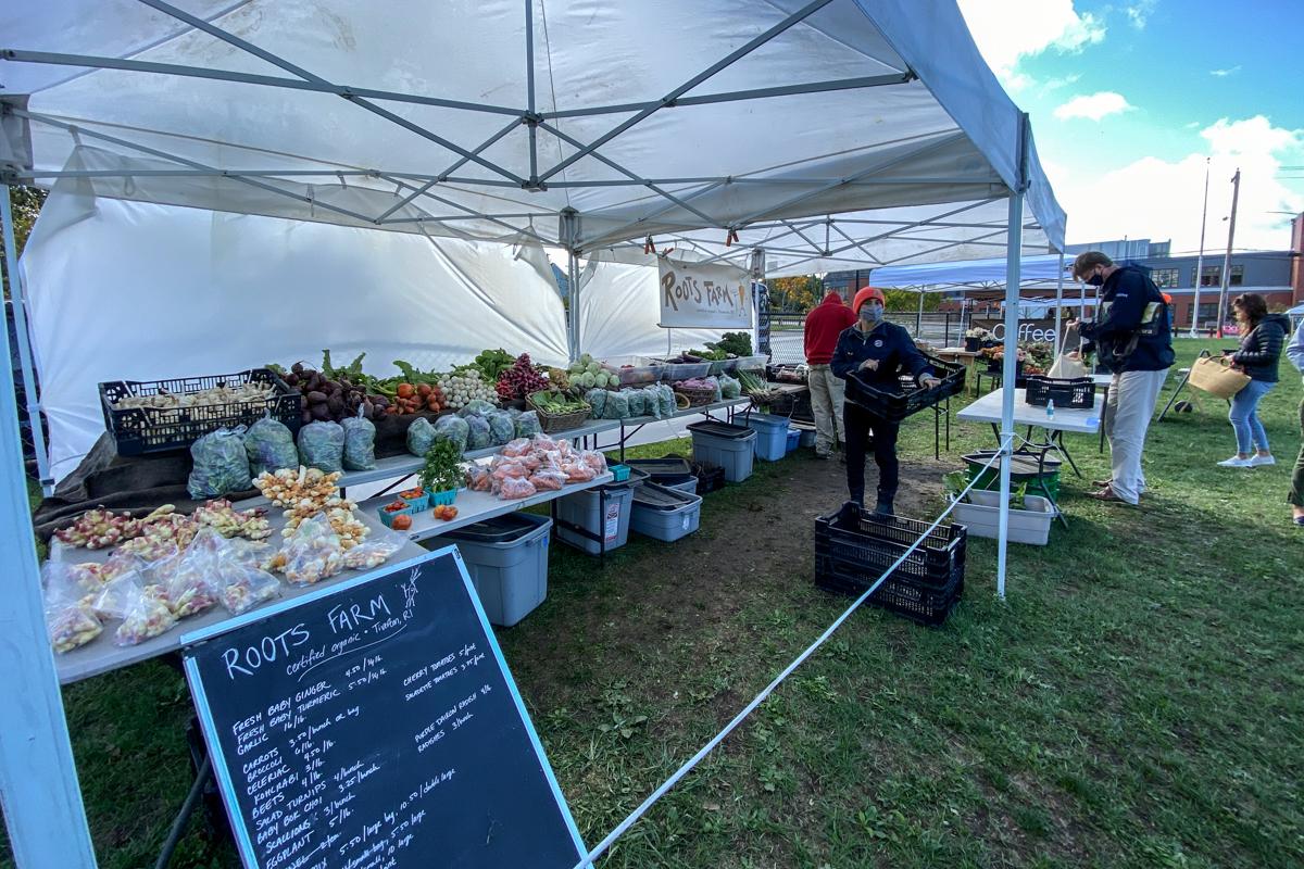 farmers market sustainable food program