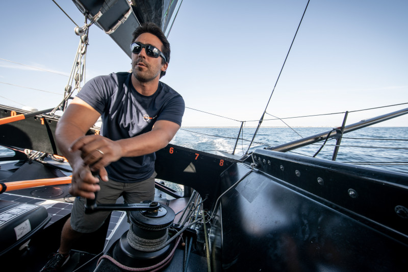 Mark towill 11th hour racing team imoca 2019 Rewind