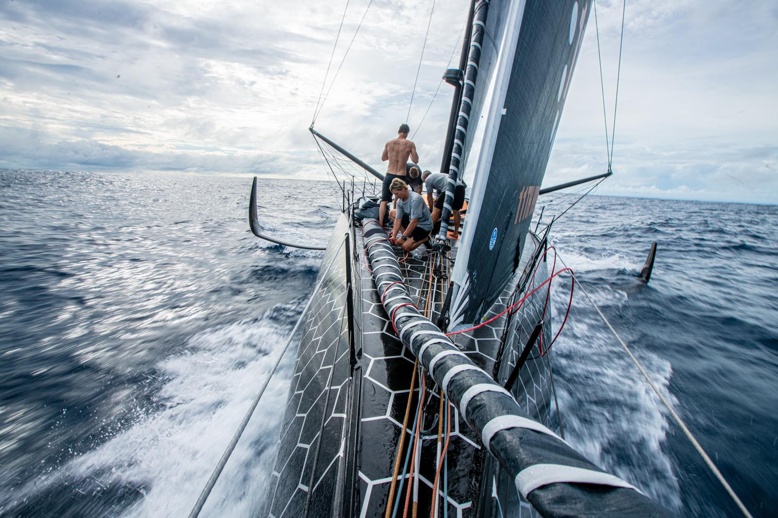 11th Hour Racing Team Transatlantic IMOCA 60 bow