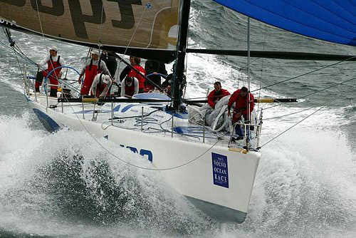 Team Tyco in the 2001-02 Volvo Ocean Race