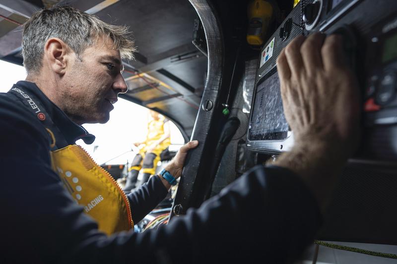 Navigation with Simon Fisher of 11th Hour Racing Team