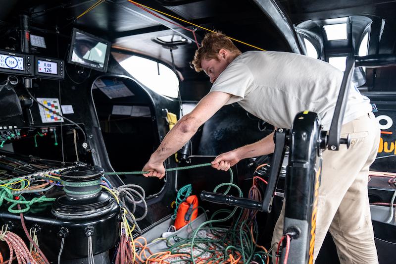 Cullen Zelenka, a graduate of Oakcliff Sailing, undertook our internship for aspiring US sailors this Fall
