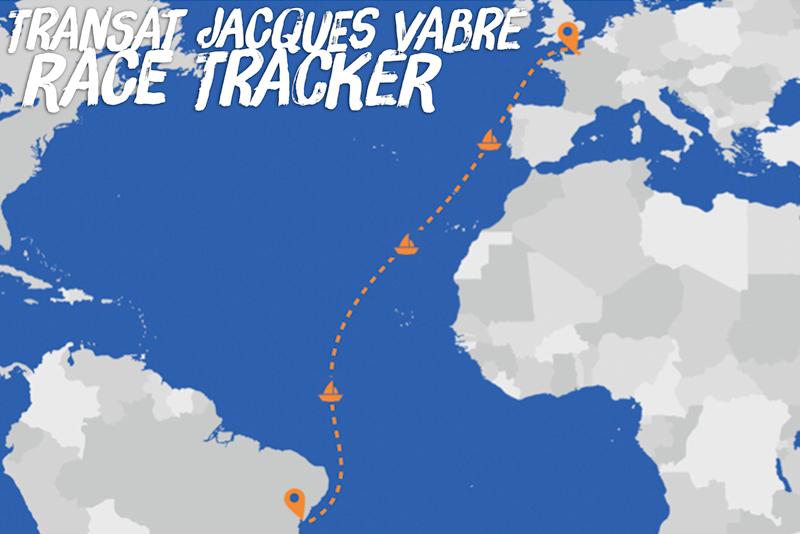 Transat Jacques Vabre 2019 race traxcker
