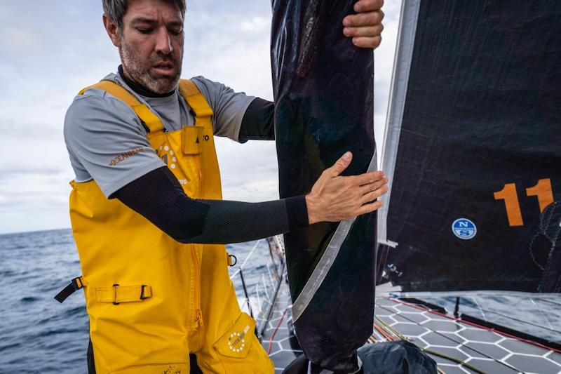Simon Fisher on deck – October 2020 Transatlantic crossing