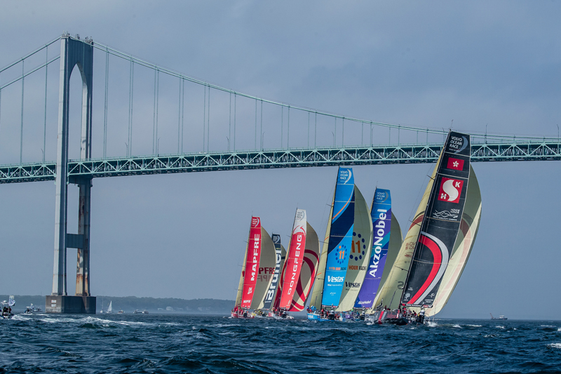 The ocean race returns to newport, RI as north American stopover