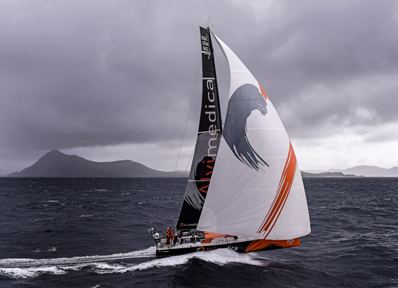 The ocean race southern ocean sailing rounding cape horn
